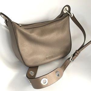 fe80d887374a Michael Kors Bags - Michael Kors Crossbody pebble leather taupe bag